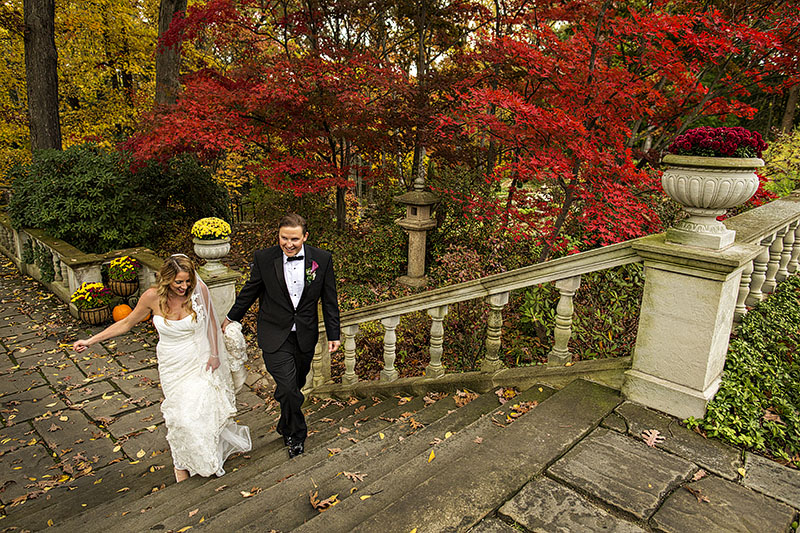 Kayt And Aaron S Stan Hywet Hall Wedding Cleveland