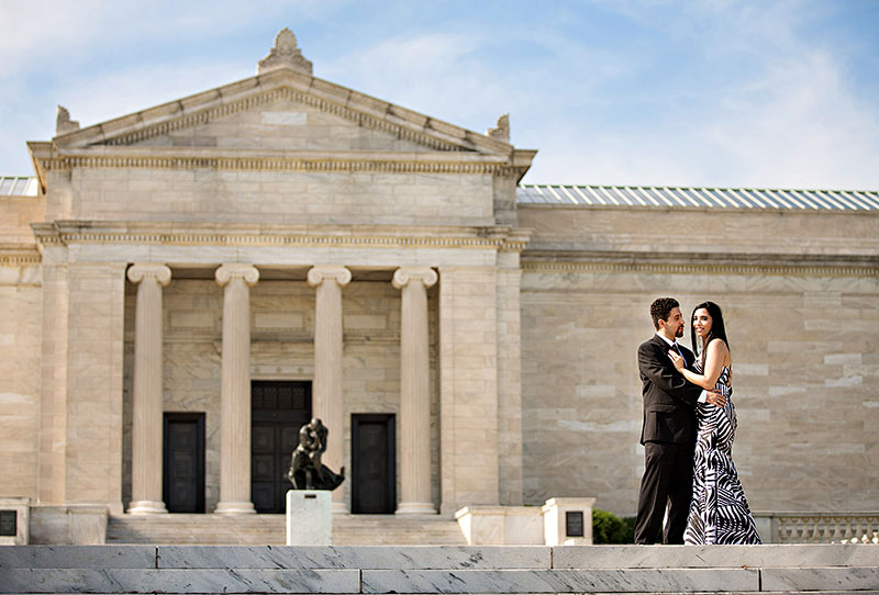 Cleveland Museum Of Art: Marian And Edy's Cleveland Museum Of Art Engagement