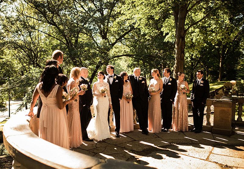 Ariel Pearl Center Wedding Erin James Scott Shaw