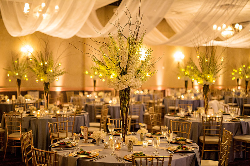 Charley And Adam S Hilton Garden Inn Toledo Wedding Was In The Levis Commons Complex